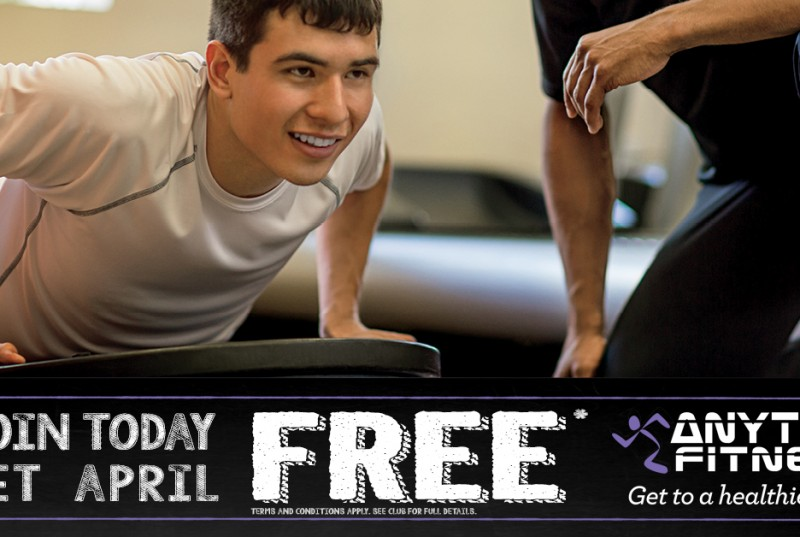Anytime Fitness Promotion
